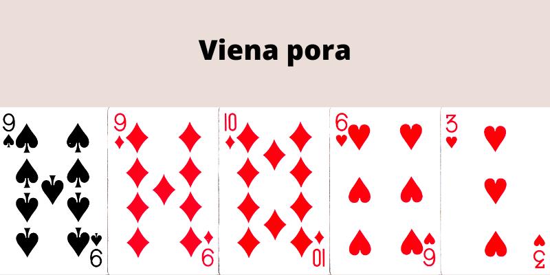 Pokerio kortų kombinacijos - viena pora