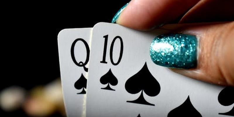 Dama ir dešimtakė - gyvas pokeris pradedantiesiems