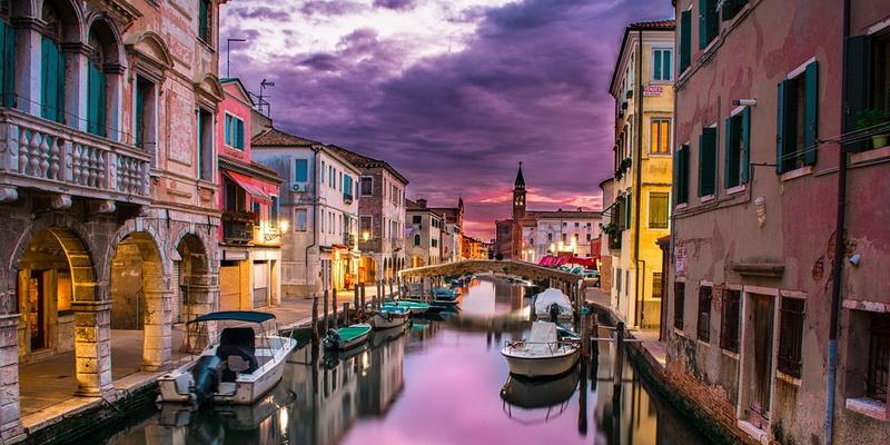 Venecija ir kelias į kazino